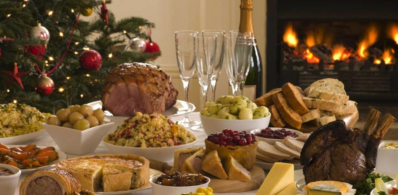 abbuffata di Natale pranzo