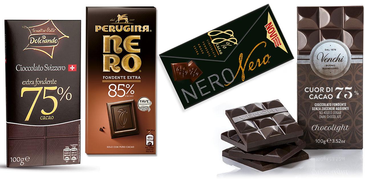 cioccolata fondente pressione alta